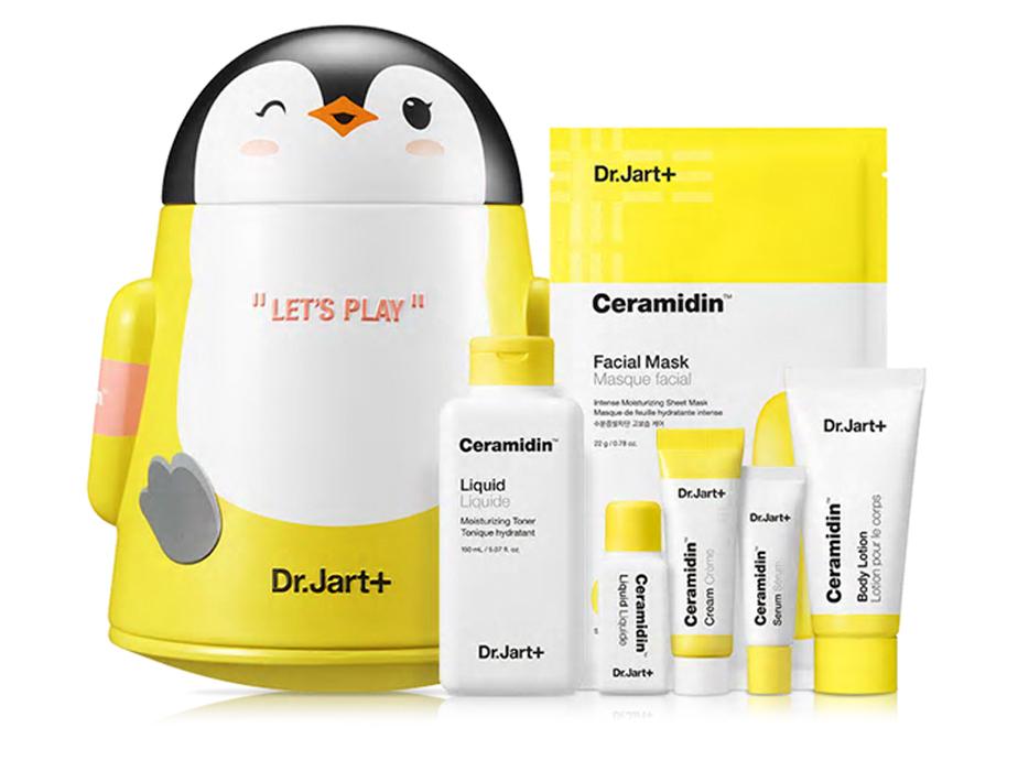 Набор уходовый для лица с керамидами 6 продуктов Dr. Jart+ Ceramidin Liquid Play Set
