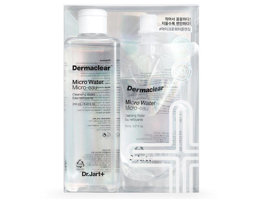 Мицеллярная вода для очищения и тонизирования Dr. Jart+ Dermaclear Micro Water, 250мл + 150мл - Фото №2