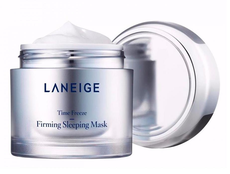 Подтягивающая ночная маска для лица Laneige Time Freeze Firming Sleeping Mask, 60мл - Фото №3