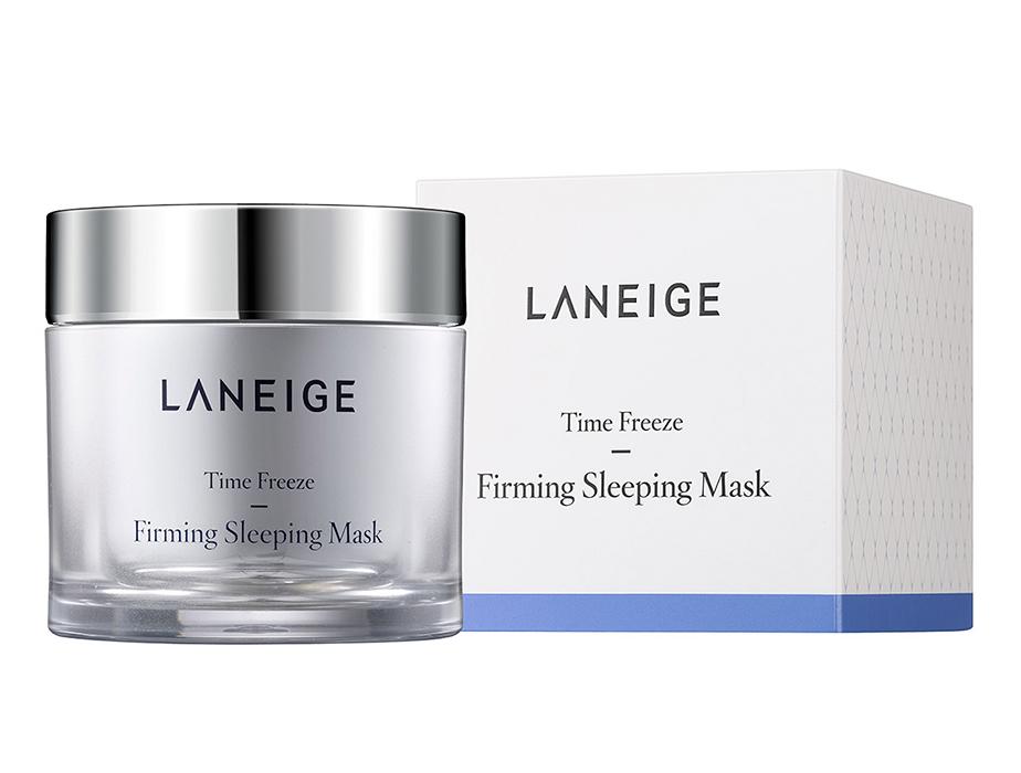 Подтягивающая ночная маска для лица Laneige Time Freeze Firming Sleeping Mask, 60мл - Фото №4