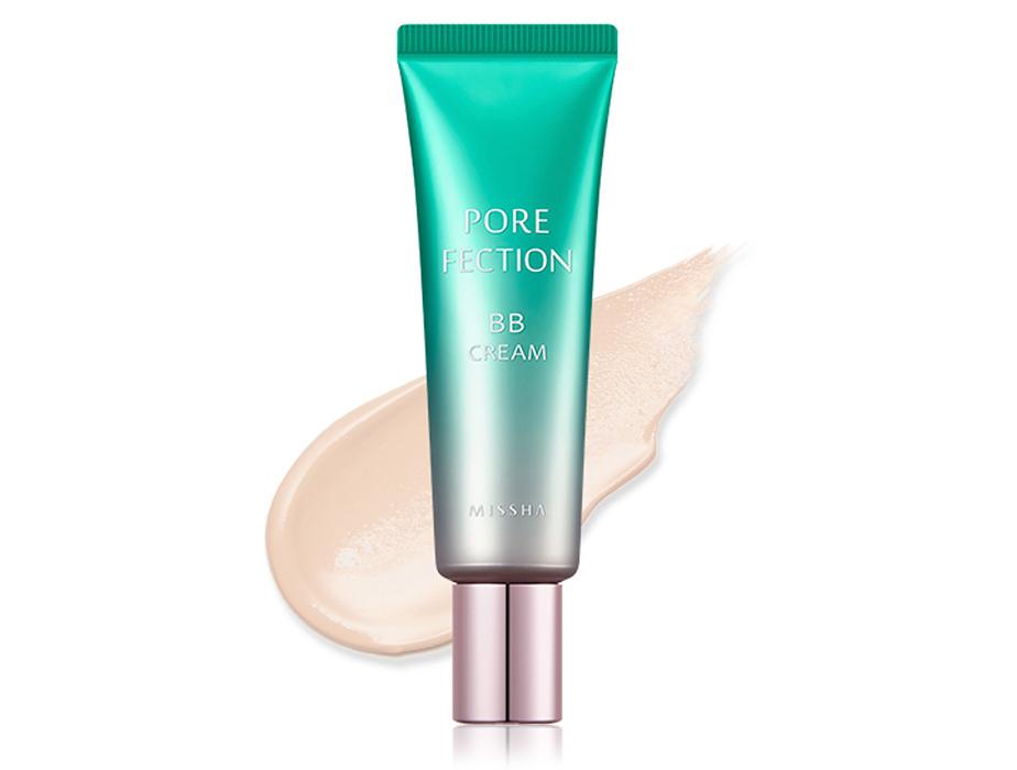 BB крем для кожи с расширенными порами Missha Pore Fection BB Cream SPF 30 Light Beige №1, 30мл