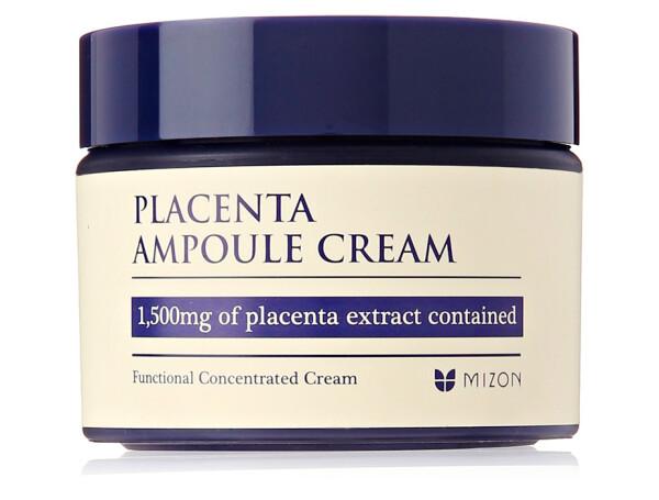 Плацентарный крем для лица Mizon Placenta Ampoule Cream, 50мл - Фото №1