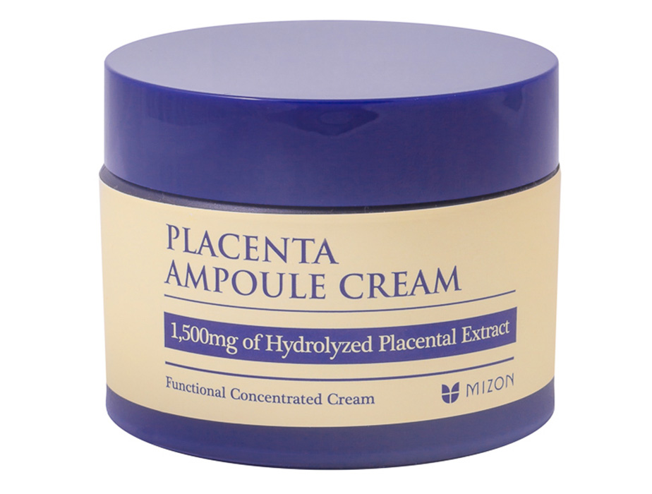 Плацентарный крем для лица Mizon Placenta Ampoule Cream, 50мл - Фото №2