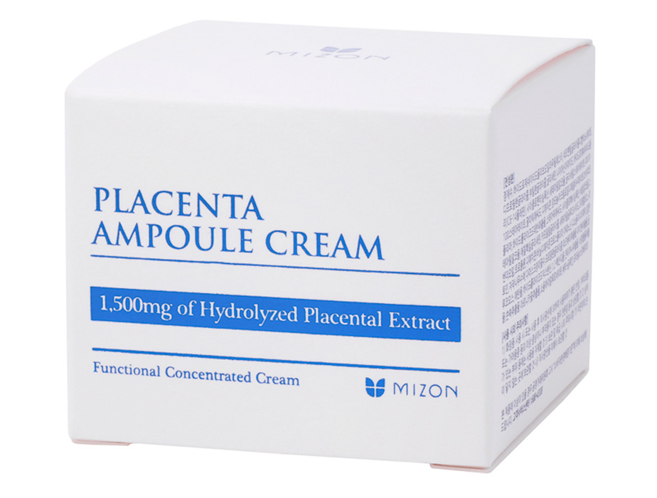 Плацентарный крем для лица Mizon Placenta Ampoule Cream, 50мл - Фото №4