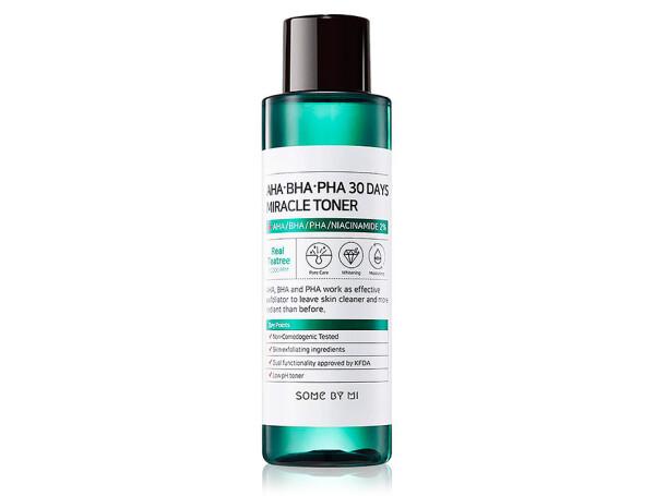 Кислотный очищающий тонер для проблемной кожи Some By Mi AHA-BHA-PHA 30 Days Miracle Toner, 150мл - Фото №1