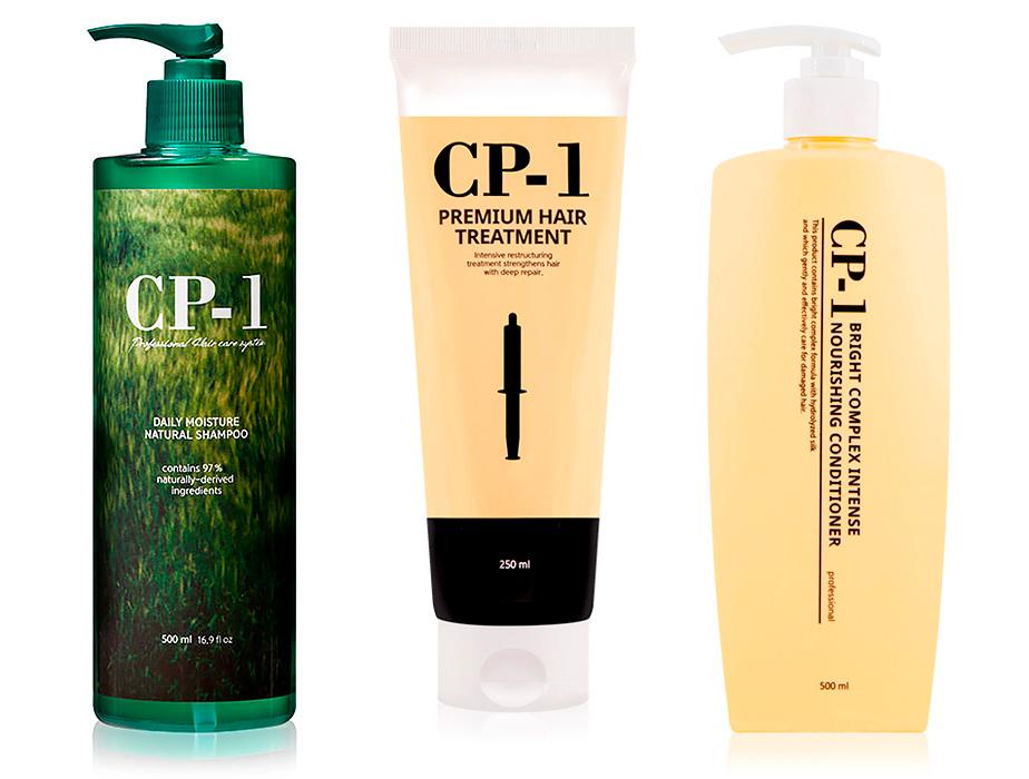 Набор для безсульфатного ухода за волосами Esthetic House CP-1