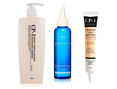 Набор «Комплексное восстановление волос с эффектом ламинирования» - Фото №1