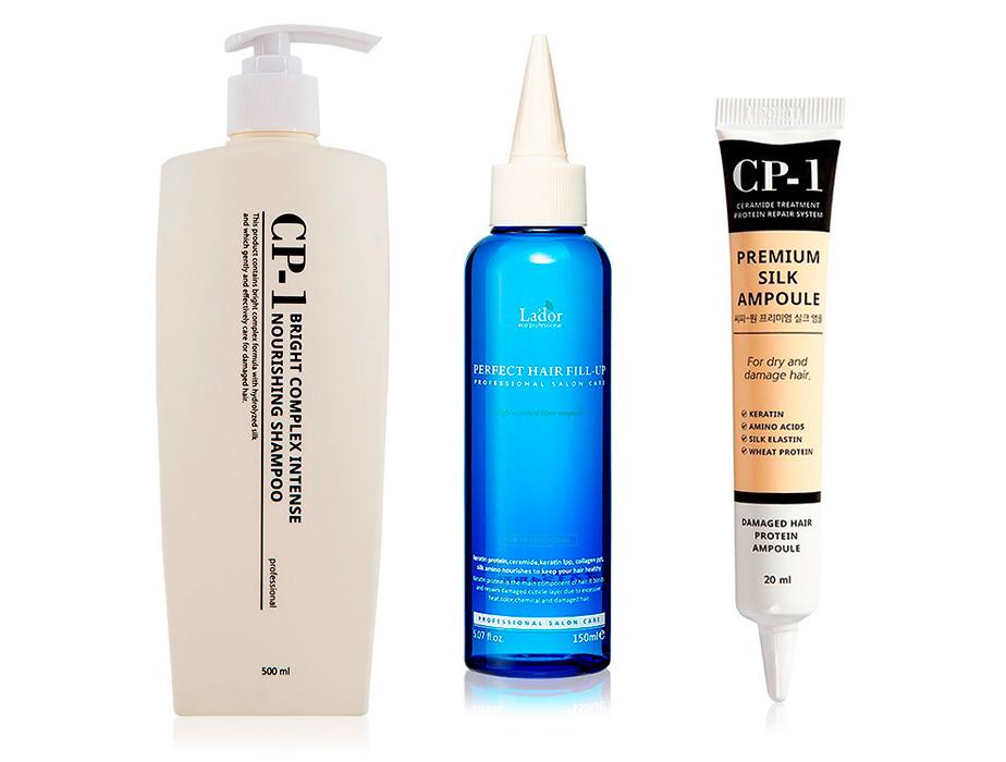 Набор «Комплексное восстановление волос с эффектом ламинирования»