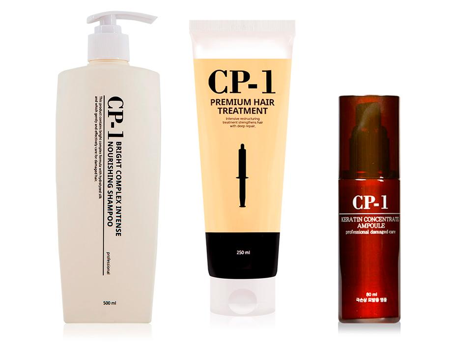 Набор «Экспресс восстановление волос за 1 применение» Esthetic House CP-1