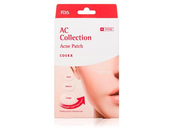 Противовоспалительные гидроколлоидные патчи от акне Cosrx AC Collection Acne Patch, 26шт - Фото №1