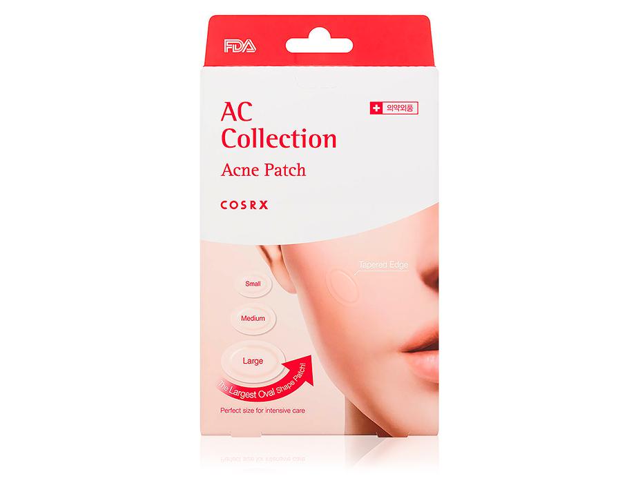 Противовоспалительные гидроколлоидные патчи от акне Cosrx AC Collection Acne Patch, 26шт