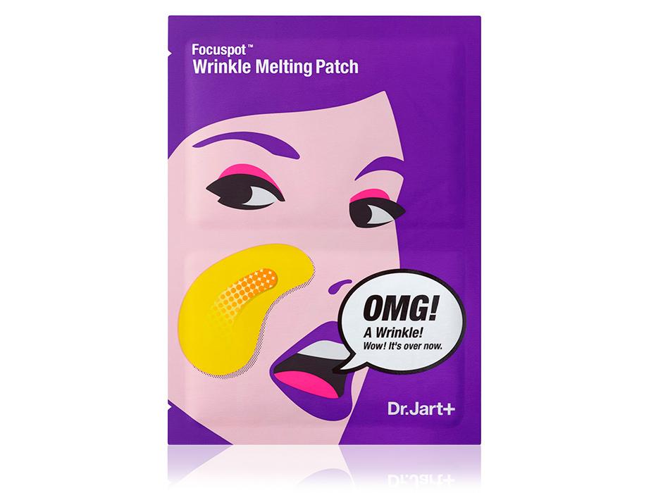 Тающие патчи для носогубных складок с лифтинг-эффектом Dr. Jart+ Focuspot Wrinkle Melting Patch