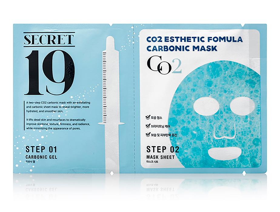 Маска для карбокситерапии лица Esthetic House CO2 Esthetic Formula Carbonic Mask - Фото №1