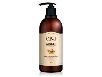 Очищающий шампунь с имбирем Esthetic House CP-1 Ginger Purifying Shampoo, 500мл - Фото №1