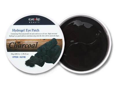 Гидрогелевые патчи под глаза с порошком древесного угля Eyenlip Charcoal Hydrogel Eye Patch, 60шт - Фото №1