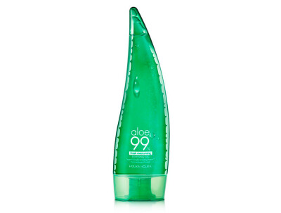 Успокаивающий и увлажняющий гель с алоэ Holika Holika Aloe 99% Soothing Gel, 250мл - Фото №1