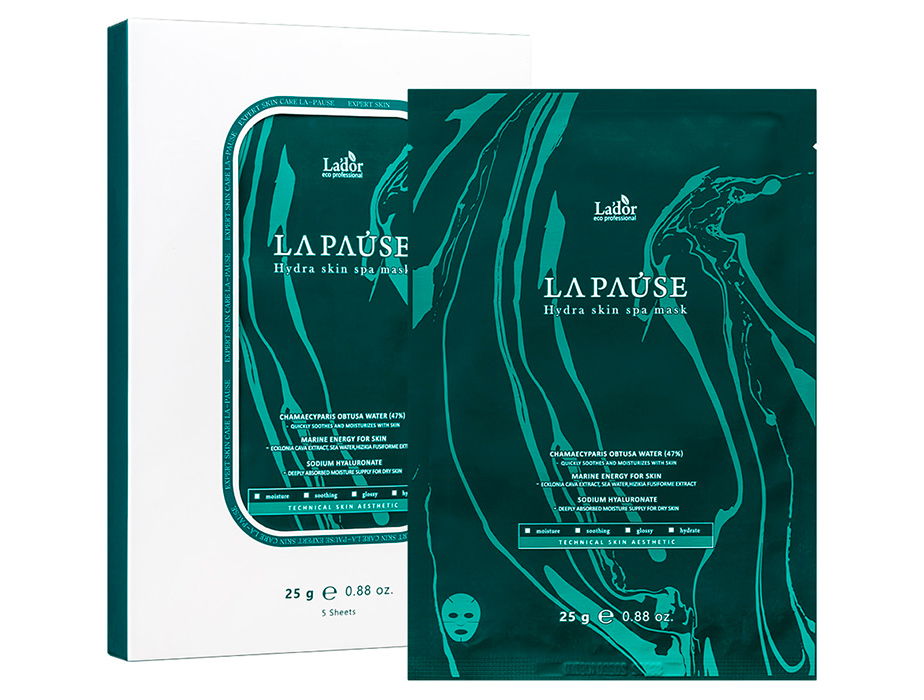 Увлажняющая спа-маска для лица Lador La-Pause Hydra Skin Spa Mask - Фото №2