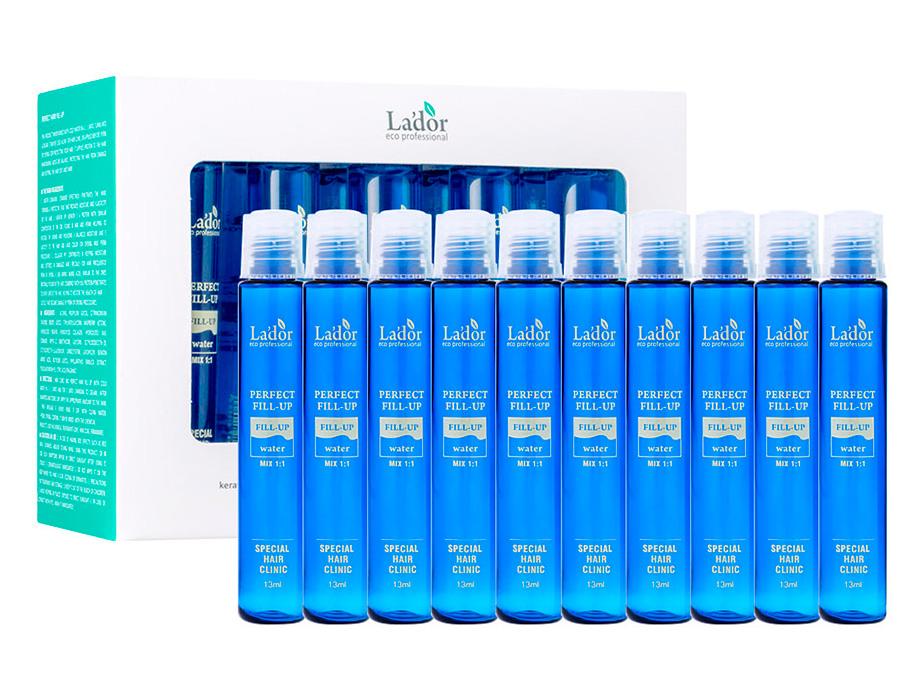 Филлер для волос с эффектом ламинирования Lador Perfect Hair Fill-Up, 10шт по 13мл - Фото №1
