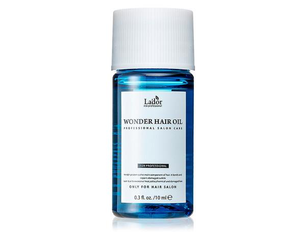 Масло для блеска и гладкости волос Lador Wonder Hair Oil, 10мл - Фото №1