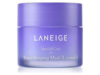 Увлажняющая ночная маска для лица с лавандой Laneige Water Sleeping Mask Lavender, 15мл - Фото №1