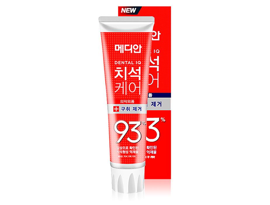 Освежающая зубная паста для профилактики зубного камня Median Dental IQ Breath Care Toothpaste, 120г