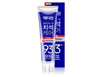 Зубная паста для профилактики кариеса Median Dental IQ Original Toothpaste, 120г - Фото №1