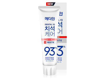Отбеливающая зубная паста Median Dental IQ White Toothpaste, 120г - Фото №1