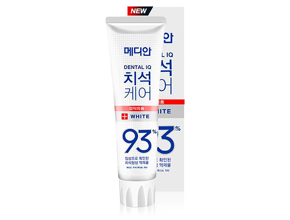 Отбеливающая зубная паста Median Dental IQ White Toothpaste, 120г