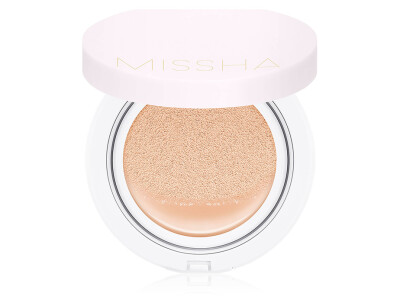 Тональная основа кушон Missha Magic Cushion Cover Lasting SPF 50, 21 тон - Фото №1