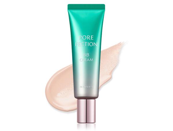 BB крем для кожи с расширенными порами Missha Pore Fection BB Cream SPF 30 Natural Beige №2, 30мл - Фото №1