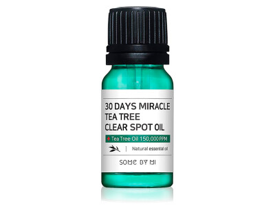 Масло для лица для точечного применения Some By Mi 30 Days Miracle Tea Tree Clear Spot Oil, 10мл - Фото №1