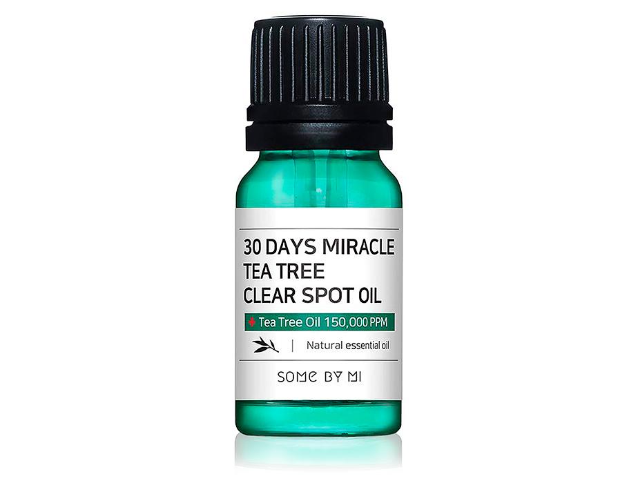 Масло для лица для точечного применения Some By Mi 30 Days Miracle Tea Tree Clear Spot Oil, 10мл