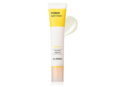 Точечный осветляющий крем для лица The Saem Power Spot Vitamin Cream, 40мл - Фото №1