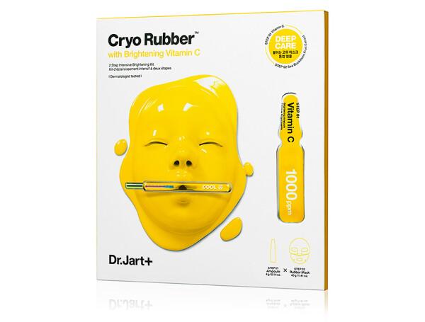 Осветляющая альгинатная маска для лица с витамином C Dr. Jart+ Cryo Rubber With Brightening Vitamin C - Фото №1