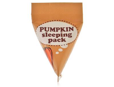 Ночная маска для лица с экстрактом тыквы Too Cool For School Pumpkin Sleeping Pack, 2мл - Фото №1