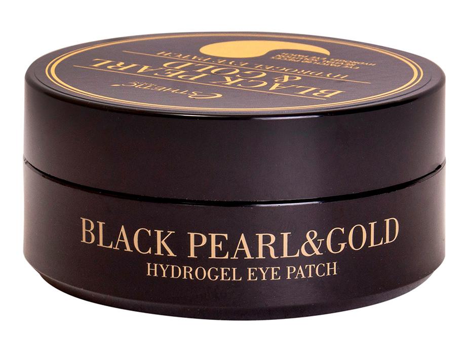 Гидрогелевые патчи под глаза с черным жемчугом и золотом Esthetic House Black Pearl & Gold Hydrogel Eye Patch, 60шт - Фото №3