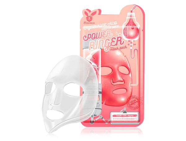 Маска для лица с гиалуроновой кислотой Elizavecca Hyaluronic Acid Water Deep Power Ringer Mask - Фото №1