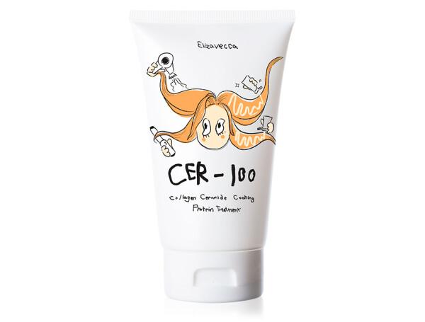 Коллагеновая маска для волос Elizavecca Cer-100 Collagen Ceramide Coating Protein Treatment, 100мл - Фото №1