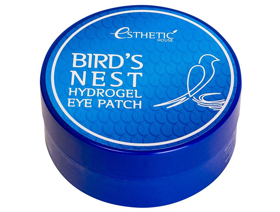 Гидрогелевые патчи под глаза с экстрактом ласточкиного гнезда Esthetic House Bird's Nest Hydrogel Eye Patch, 60шт - Фото №2