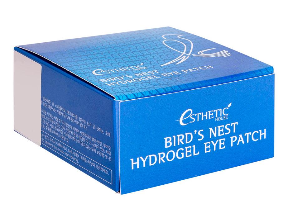 Гидрогелевые патчи под глаза с экстрактом ласточкиного гнезда Esthetic House Bird's Nest Hydrogel Eye Patch, 60шт - Фото №4