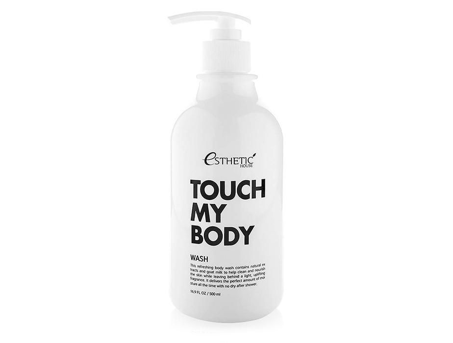 Увлажняющий гель для душа с козьим молоком Esthetic House Touch My Body Wash, 500мл