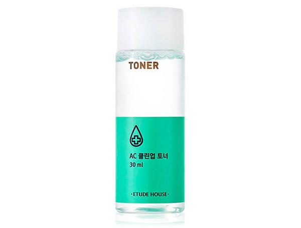 Тонер для проблемной кожи лица Etude House AC Clean Up Toner, 30мл - Фото №1