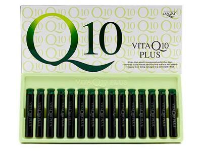 Ампулы для роста и восстановления волос с витамином B6 и коэнзимом Q10 Incus Vita Q10 Plus Ampoule, 15шт по 13мл - Фото №1