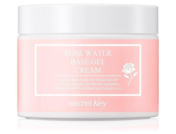 Гель-крем для лица на основе розовой воды Secret Key Rose Water Base Gel Cream, 100г - Фото №1
