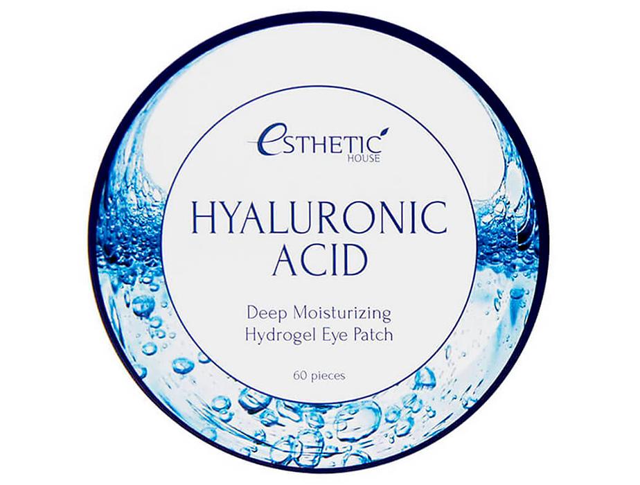Гидрогелевые патчи под глаза с гиалуроновой кислотой Esthetic House Hyaluronic Acid Hydrogel Eye Patch, 60шт - Фото №3
