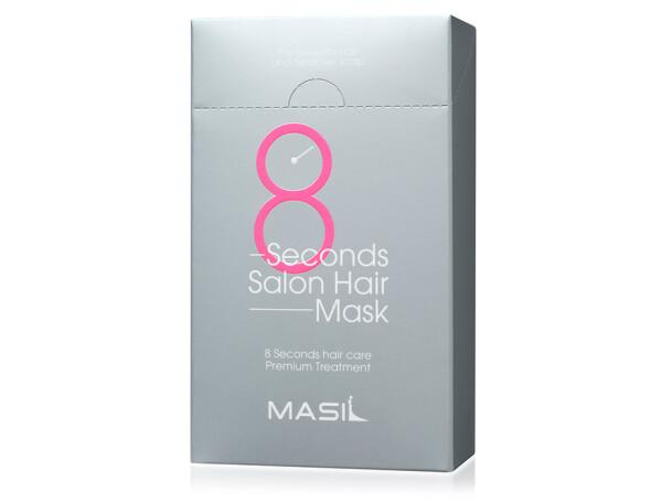 Восстанавливающая питательная маска для волос Masil 8 Seconds Salon Hair Mask, 20шт по 8мл - Фото №1