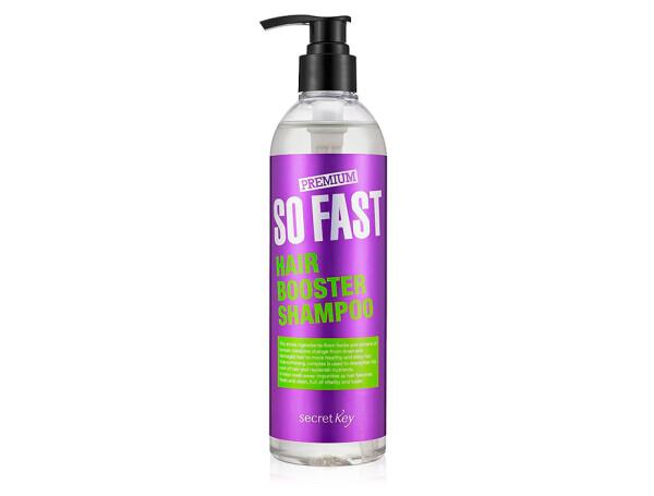 Шампунь активатор роста волос Premium Secret Key So Fast Hair Booster Shampoo, 360мл - Фото №1