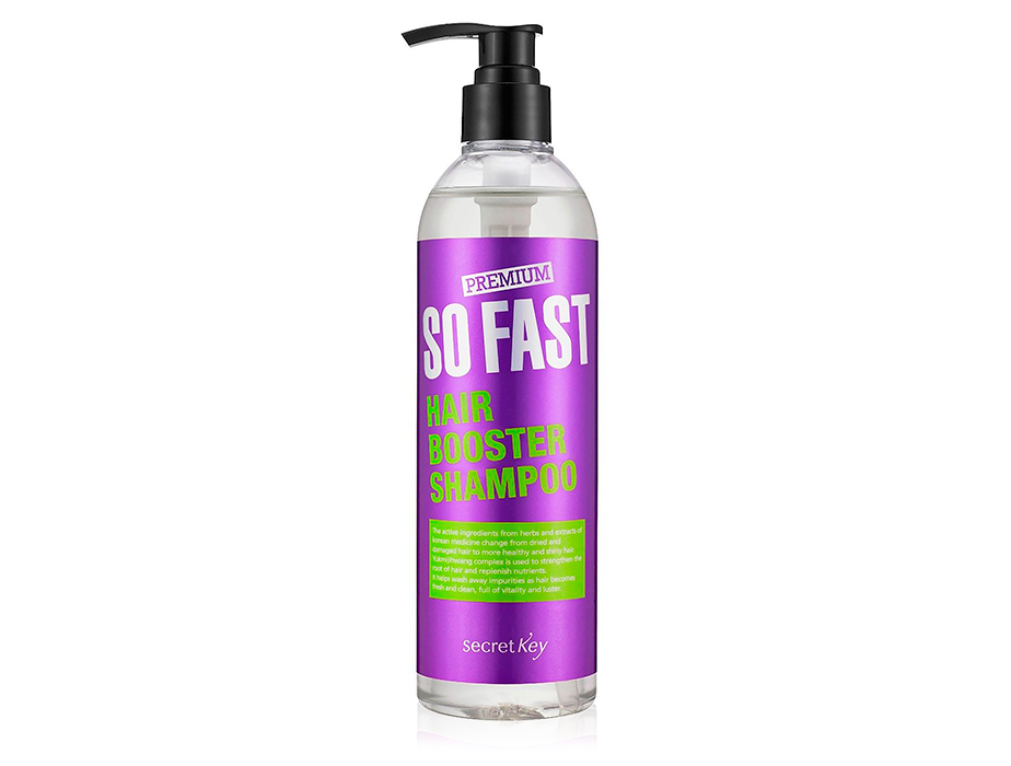 Шампунь активатор роста волос Premium Secret Key So Fast Hair Booster Shampoo, 360мл