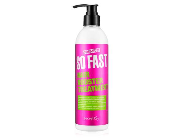 Бальзам для ускорения роста волос Secret Key Premium So Fast Hair Booster Treatment, 360мл - Фото №1