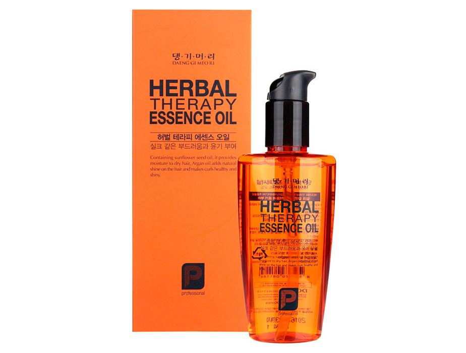 Восстанавливающее масло для волос Daeng Gi Meo Ri Professional Herbal Therapy Essence Oil, 140мл - Фото №2